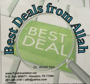 Best Deal from Allah